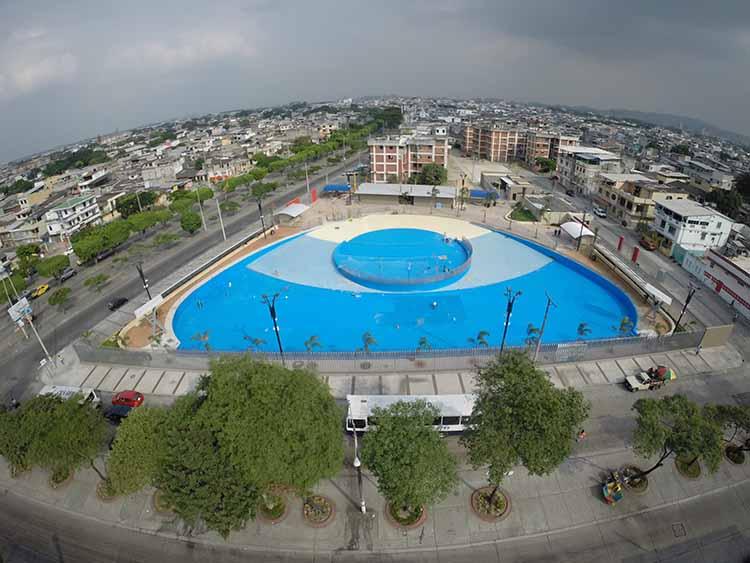 este viernes el alcalde nebot inaugura laguna artificial