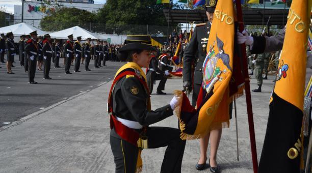 Juramento de bandera y proclamación de abanderados será en línea.