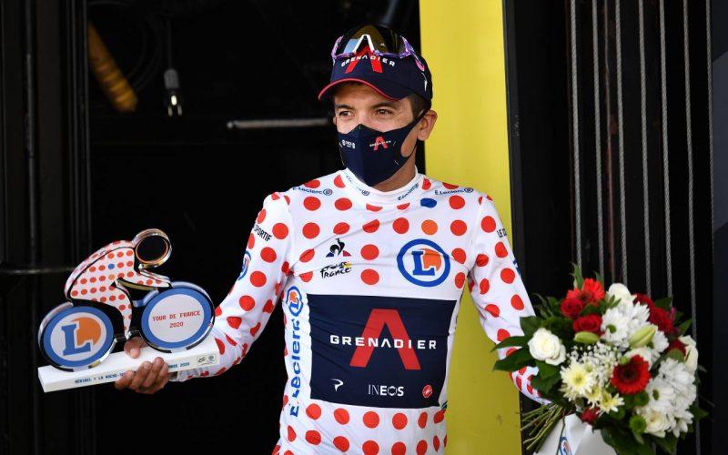 Carapaz conquista la montaña del Tour de Francia en la etapa 18.