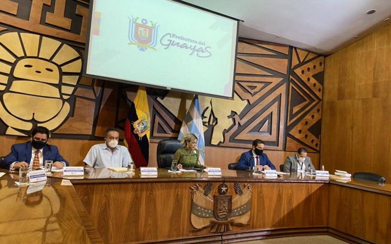 Prefectura del Guayas aprueba culminar contratos viales de Conorte y Concegua