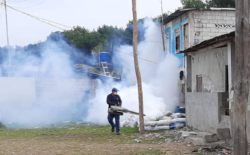 Fumigación y brigadas en los sectores rurales de Guayaquil