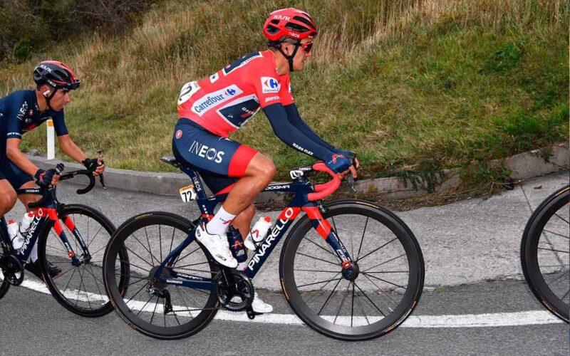 Richard Carapaz suma cuarta jornada como líder de La Vuelta