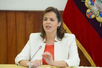 La ministra María Paula Romo mencionó sobre el caso involucrado de ISSPOL