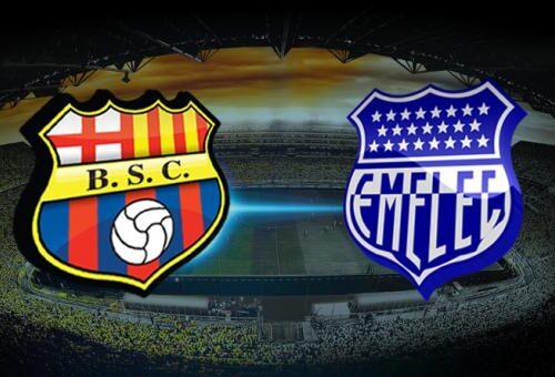 Barcelona y Emelec comparten la punta de la Liga Pro2020, previo al Clásico de Astillero.