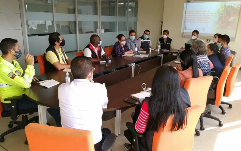 Ministerio de Inclusión Económica y Social (MIES) Fortalece Acciones para Prevenir la Mendicidad en Guayaquil y Durán
