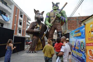 Ruta de los monigotes gigantes, entre los eventos suspendidos para festividades de fin de año, por COVID-19