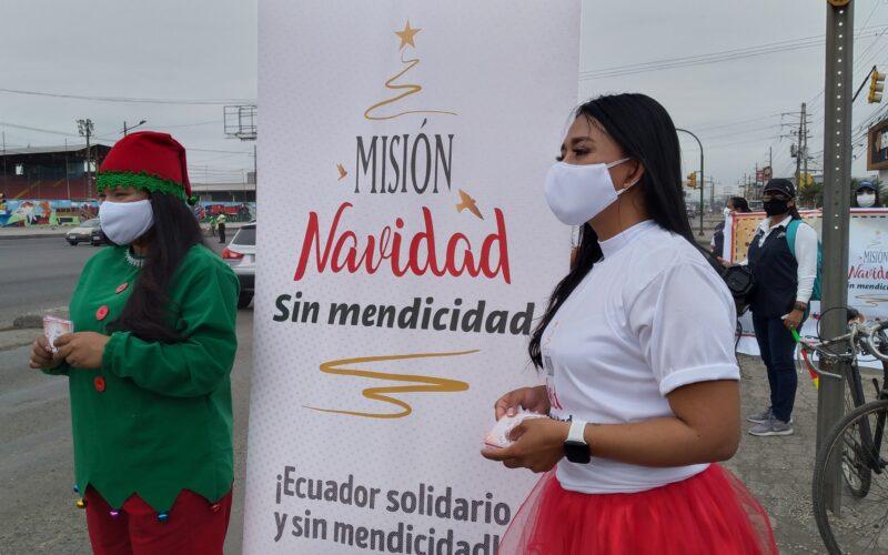 MIES PREVIENE LA MENDICIDAD EN DURÁN. CON CAMPAÑA DE SENSIBILIZACIÓN.