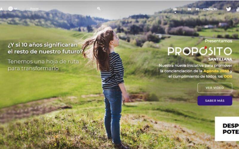 Propósito Santillana, un proyecto que apuesta por la Agenda 2030