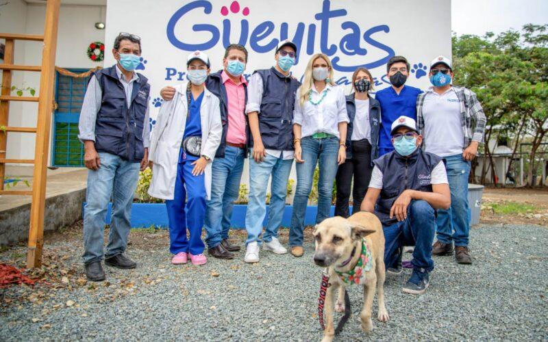 La prefecta del Guayas Susana González presentó programa social Guayas Integra.