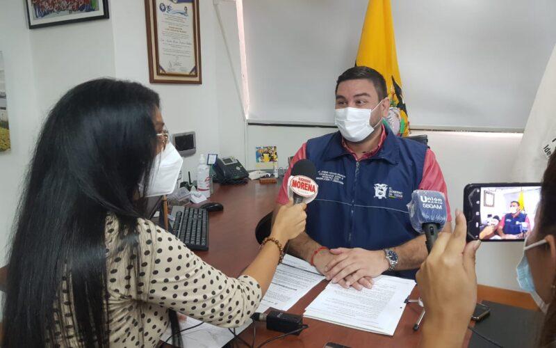 ANDRÉS FANTONI HABLA SOBRE HORARIOS DE ATENCIÓN DEL REGISTRO CIVIL PREVIO A LAS ELECCIONES