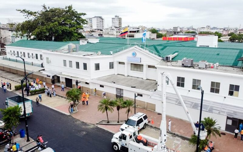 SE COPAN LAS CAMAS DE UCI EN EL HOSPITAL BICENTENARIO