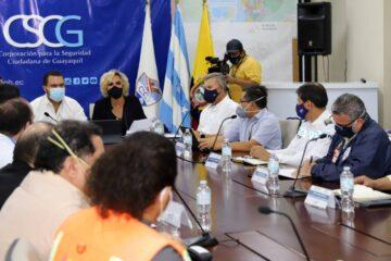 GUAYAQUIL LOGRA CONSEGUIR ESTABLIDAD FRENTE AL VIRUS DEL COVID-19 SEGÚN INFORMES DEL COE CANTONAL