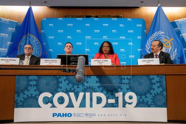 AUMENTO DE CASOS POR COVID-19 EN AMÉRICA PREOCUPA A LA OMS Y OPS
