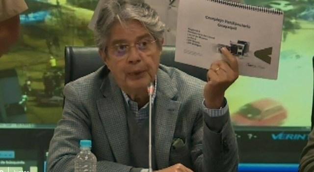 PRESIDENTE LASSO DECRETA ESTADO DE EXCEPCIÓN LUEGO DE LA MASACRE QUE DEJO 116 MUERTOS EN LA PENITENCIARIA DE GUAYAQUIL